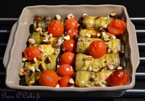 Canneloni d'aubergines