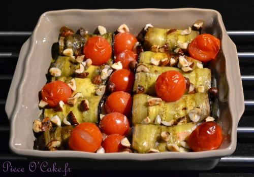 Canneloni d'aubergines