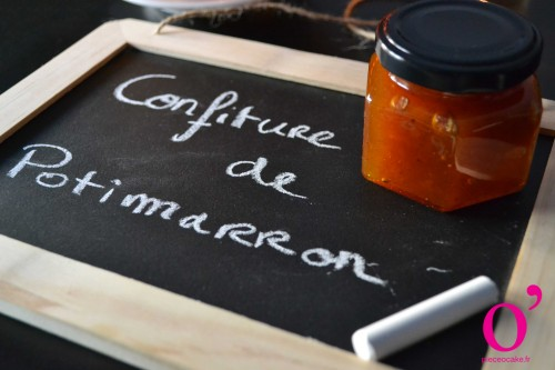Confiture de potimarron à la cannelle