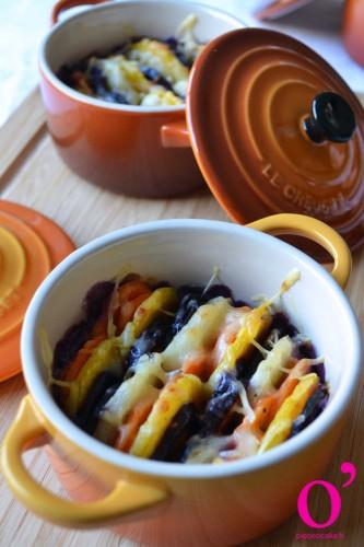 Cocottes de carottes à la crème