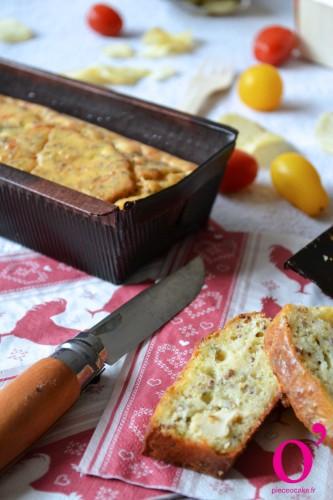Cake poulet, estragon et moutarde à l'ancienne