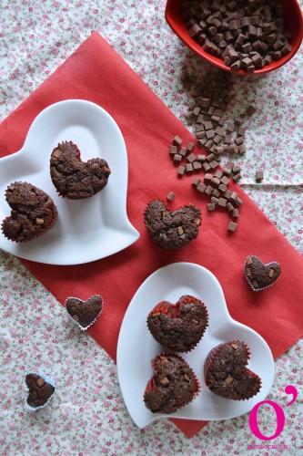 Amours de muffins au chocolat