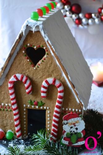 Maison de Noël en pain d'épices version 2015