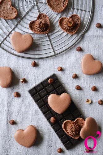 """Macarons """"amour de chocolat"""""""