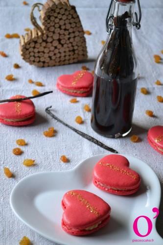 """Macarons """"Valentin aux Antilles"""""""
