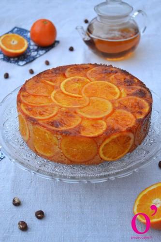 Gateau noisette orange