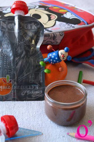 Petites crèmes vegan au cacao